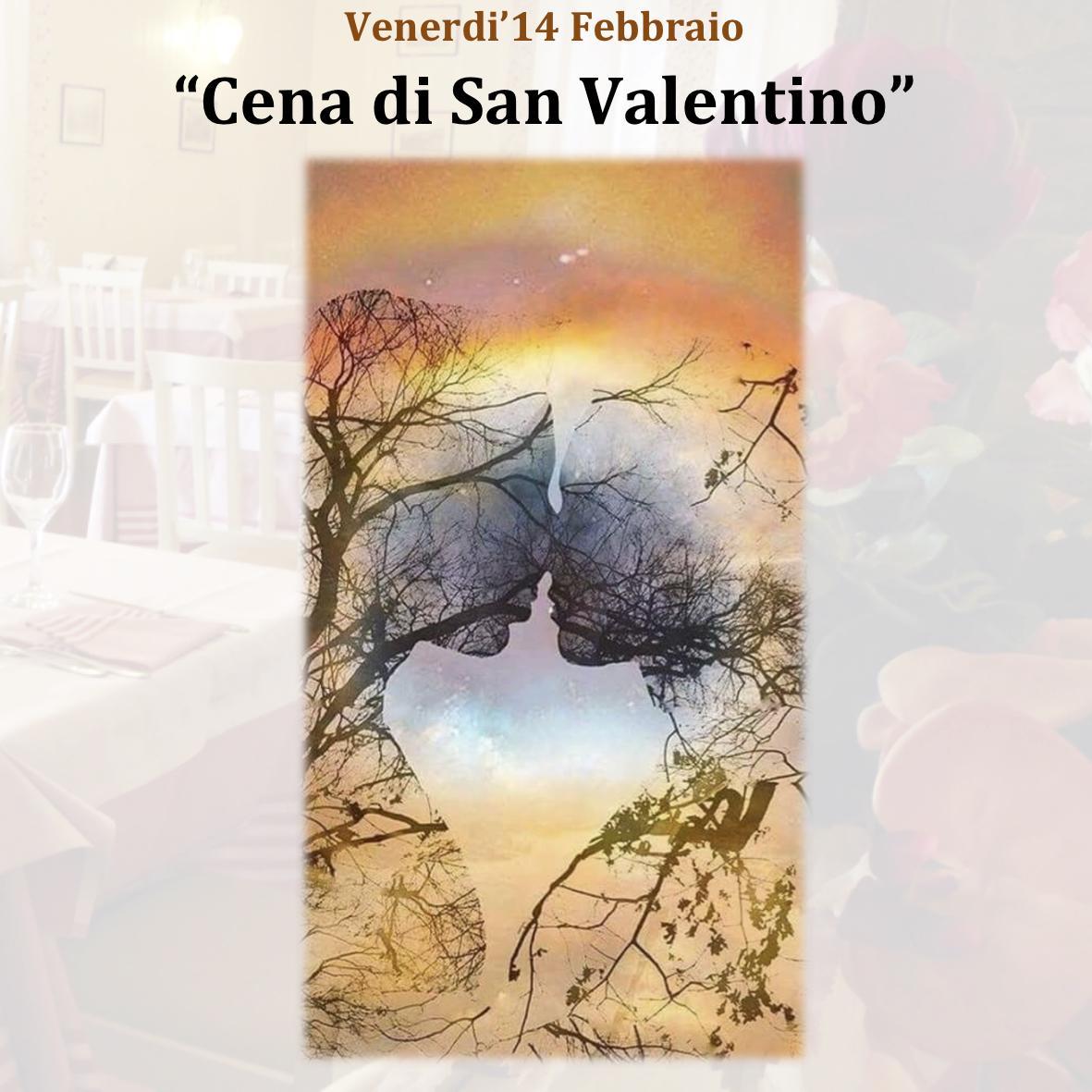 """""""Cena di San Valentino"""" Venerdì 14 Febbraio"""